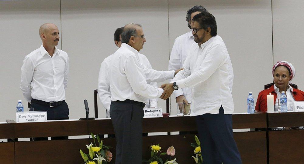 Negociaciones de paz entre las FARC y Colombia en La Habana, Cuba