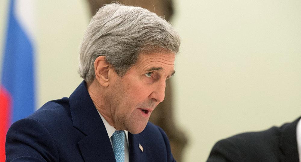 Jonh Kerry, secretario de Estado de EEUU