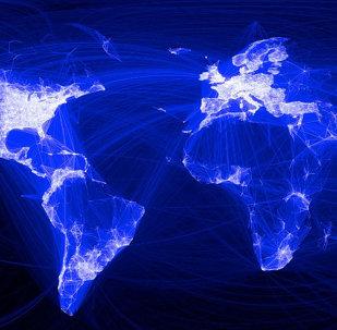 Conexión digital en el mundo (imagen referencial)