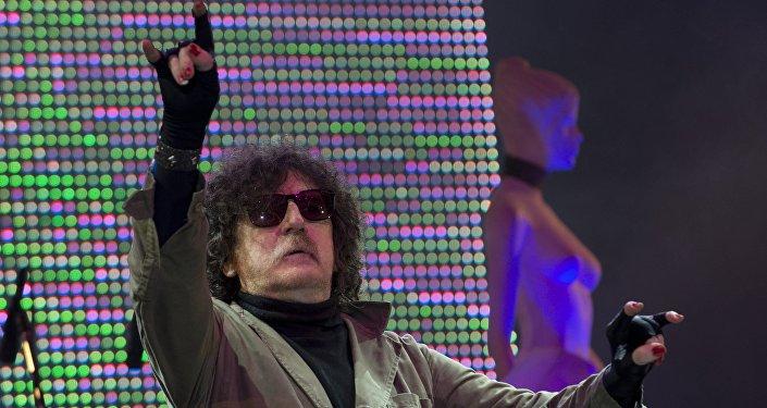 Charly García, un famoso rockero argentino