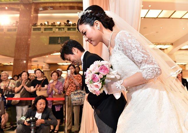 Una boda en Japón