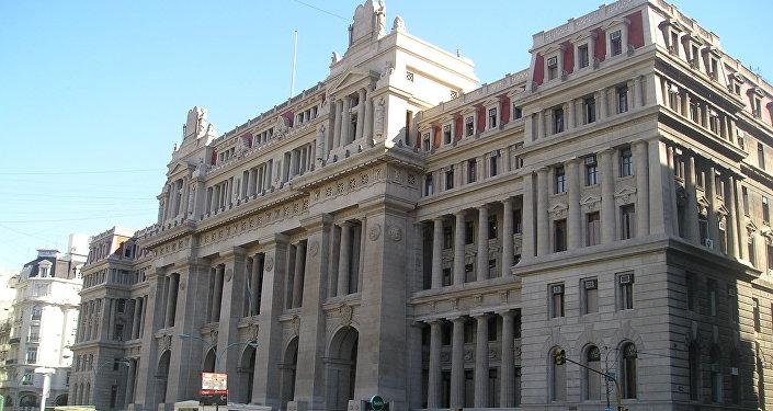 Palacio de Justicia, sede de la Corte Suprema de Justicia de Argentina