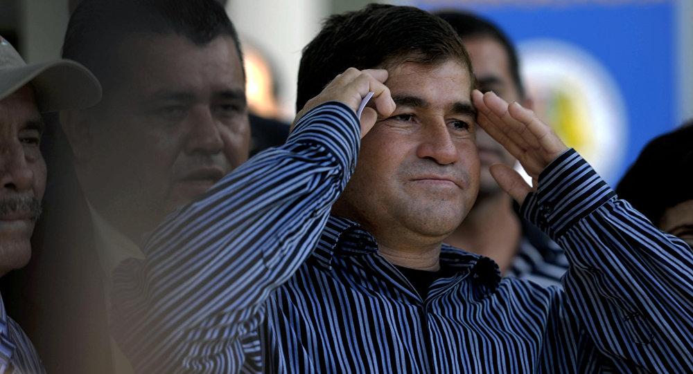 José Salvador Alvarenga, pescador salvadoreño