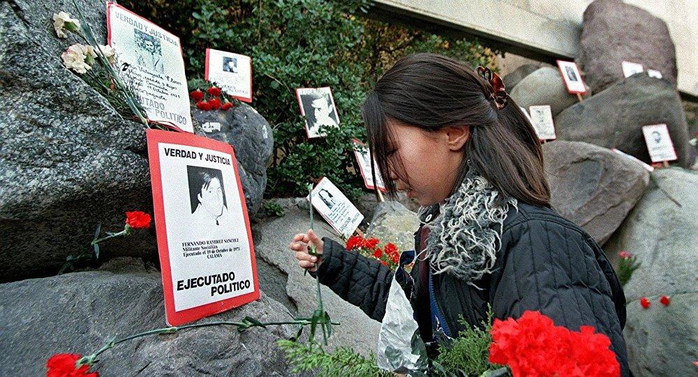 Memorial de los Detenidos Desaparecidos en el cementerio de Santiago, Chile