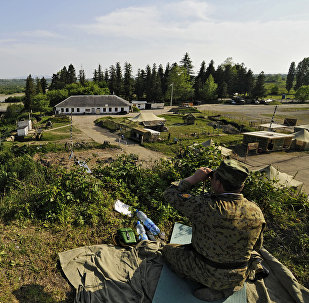 Frontera entre Georgia y Abjasia