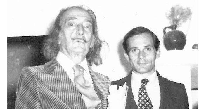 Salvador Dalí y Juan González-Quirós y Corujo, conde de La Carrera
