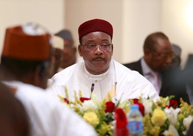 Mahamadou Issoufou, presidente de Niger