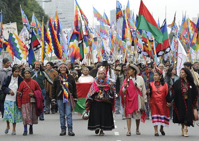 Indígenas de Argentina (archivo)