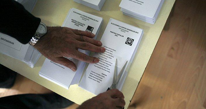 Elecciones en España (Archivo)