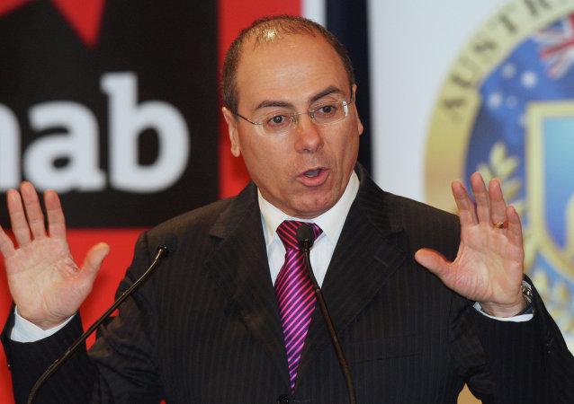 Silvan Shalom, ministro del Interior y vice-primer ministro de Israel
