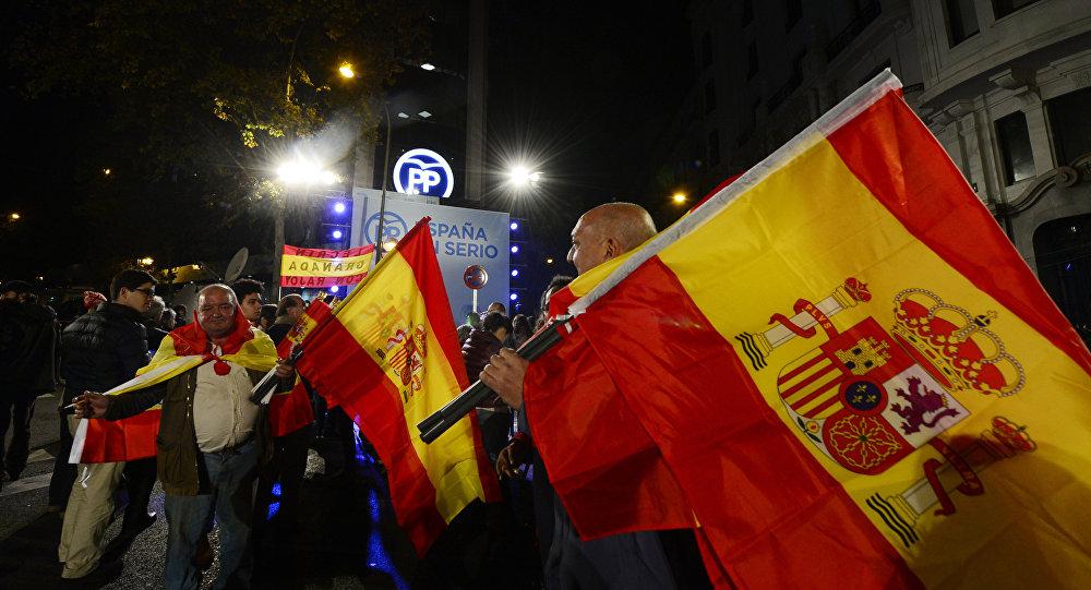Simpatizantes del Partido Popular de España (archivo)