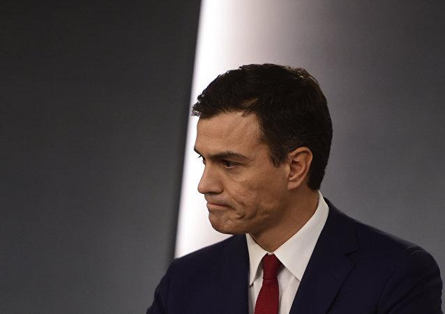 Pedro Sánchez, el secretario general del PSOE (archivo)