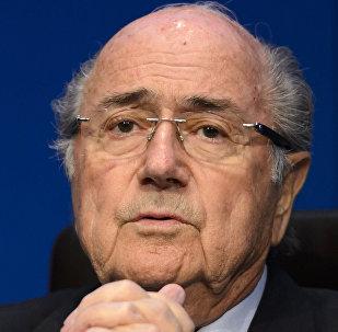 Joseph Blatter y Michel Platini
