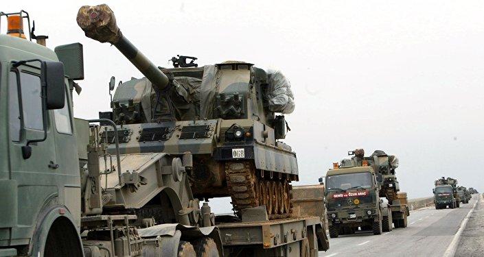 Convoy militar turco (archivo)