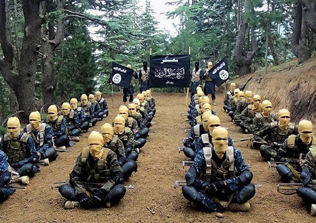 Militantes del Daesh
