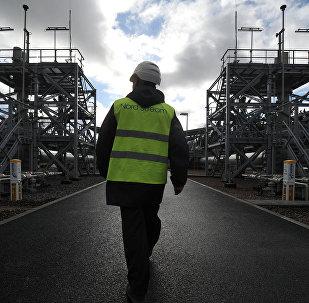 Estación de compresion del Nord Stream