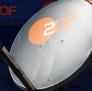 Logo de un canal alemán ZDF