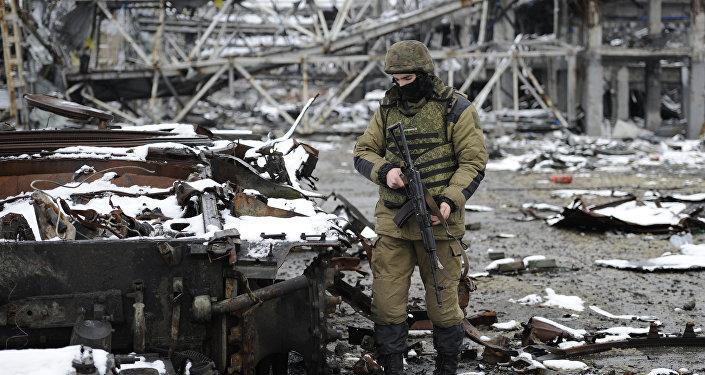 Combates en Donbás
