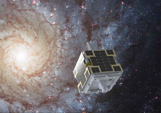 Un satélite de la compañía Dauria Aerospace en el espacio