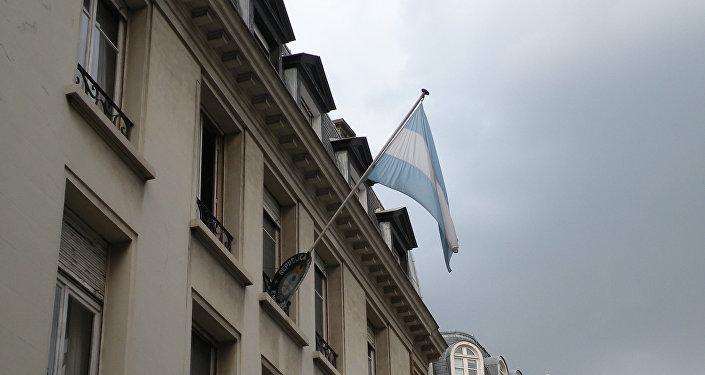 Embajada de Argentina en Francia (ilustración)