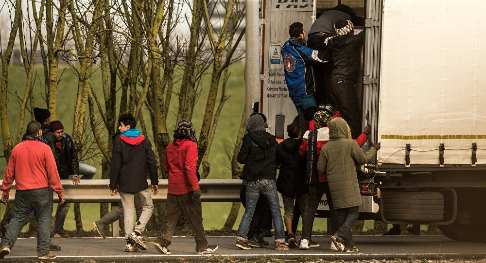 Migrantes y refugiados en el territorio de Francia