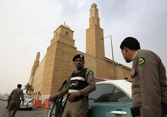 Policía de Arabia Saudí