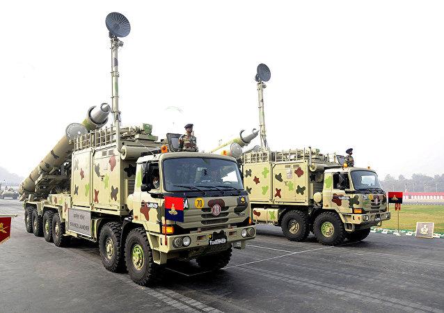 Sistemas de misiles BrahMos de las Fuerzas Armadas de la India