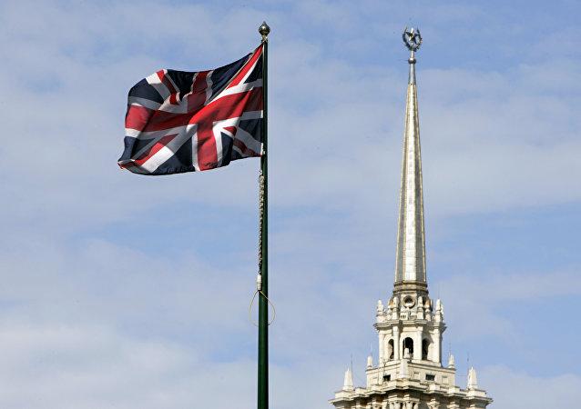 Bandera nacional británica, Moscú