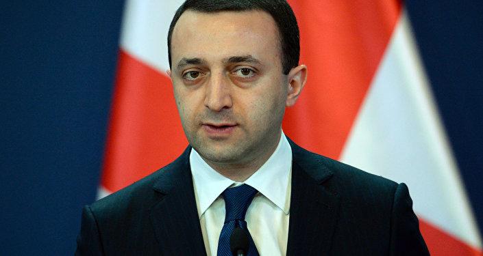 Irakli Garibashvili, el primer ministro de Georgia