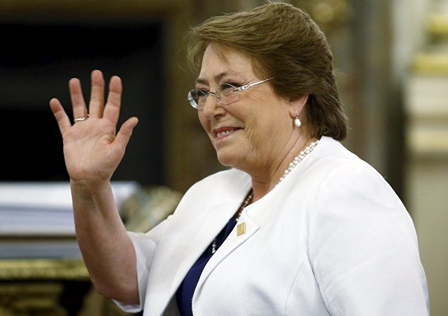 Bachelet waves as she arrives for the taking officeChile's President Michelle  ceremony of Argentina's President Mauricio Macri at Casa Rosada Presidential Palace in Buenos Aires, Argentina, December 10, 2015