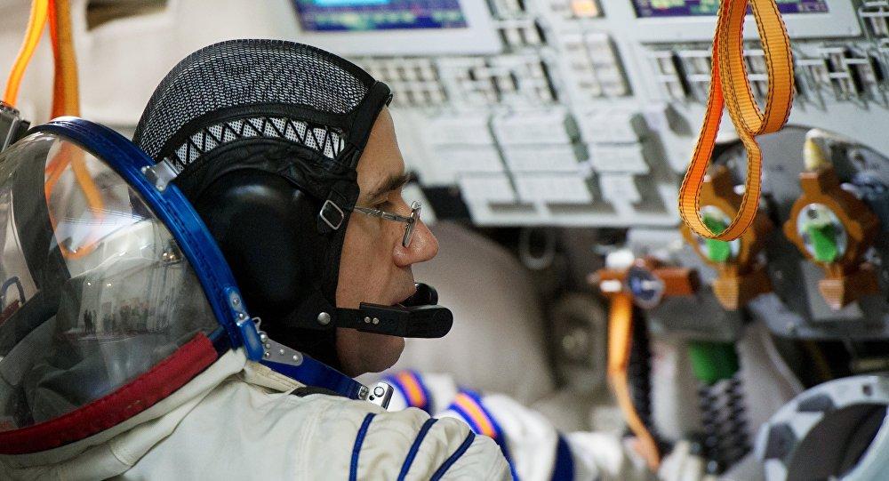 Yuri Malenchenko, cosmonauta ruso del equipaje ISS 46/47