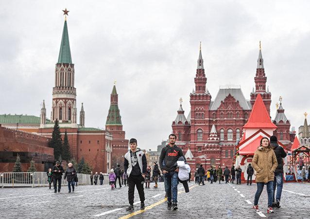 Invierno en Moscú, Rusia