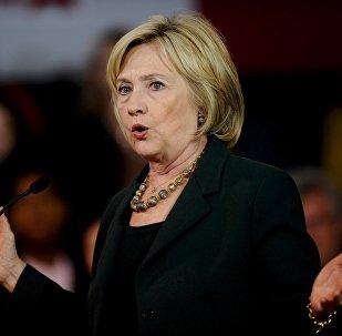 Hillary Clinton, candidata a presidente de EEUU por el Partido Democrata