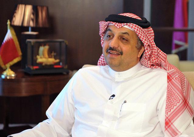Jalid bin Muhammad al Atiyah, ministro de Exteriores de Catar