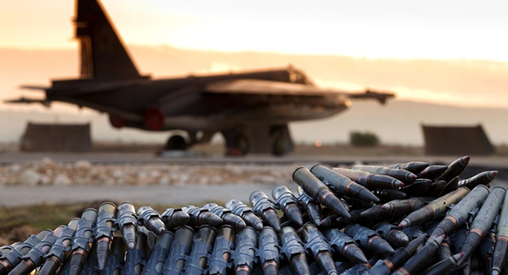 Base aérea de Hmeymim en Siria (imagen referencial)