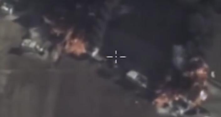 La explosión de los camiones cisternas de Daesh