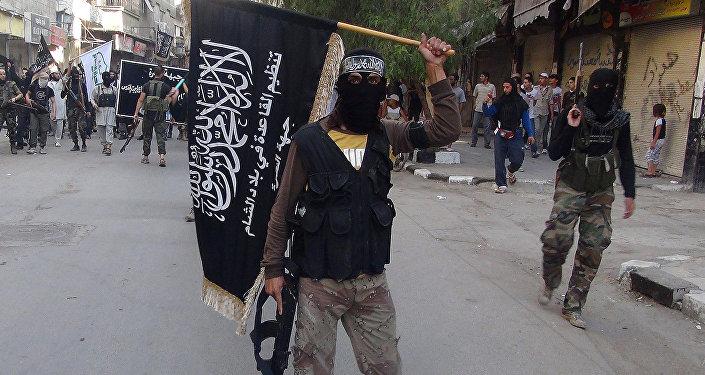 Combatientes del grupo terrorista Frente al Nusra