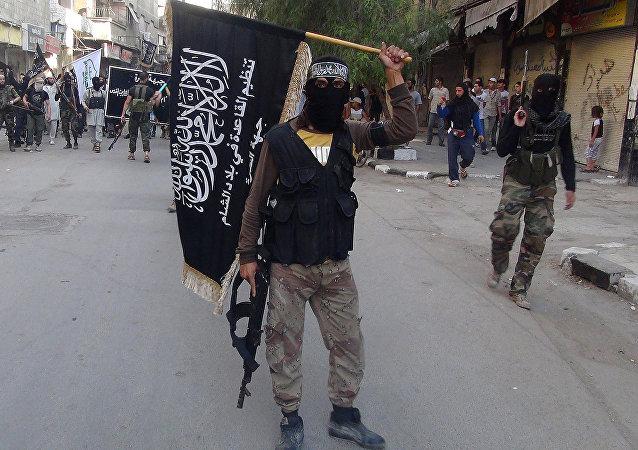 Combatientes del grupo terrorista Frente al Nusra (archivo)