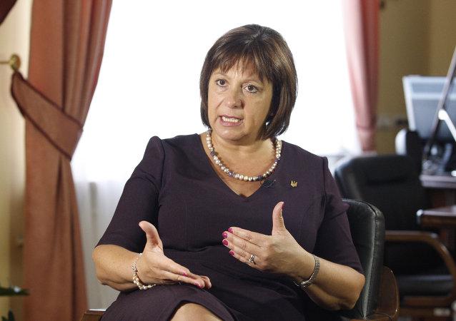 Natalia Jaresko, exministra ucraniana