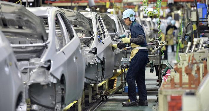 Una planta de Toyota