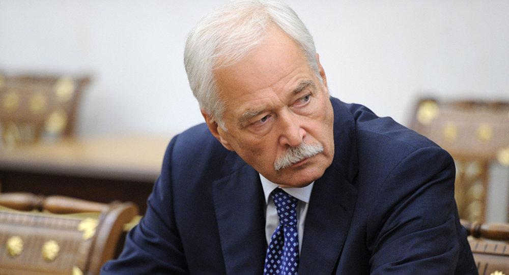 Borís Grizlóv, el representante de Rusia en el Grupo de Contacto Trilateral para Ucrania