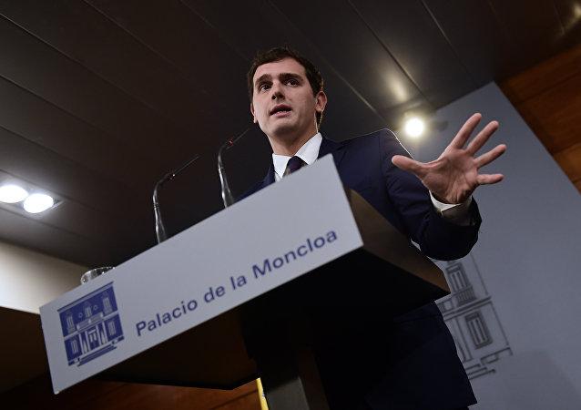 Albert Rivera, secretario general del partido liberal Ciudadanos (archivo)
