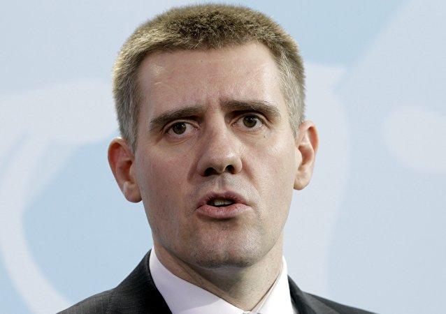 Igor Luksic, viceprimer ministro y titular de Asuntos Exteriores