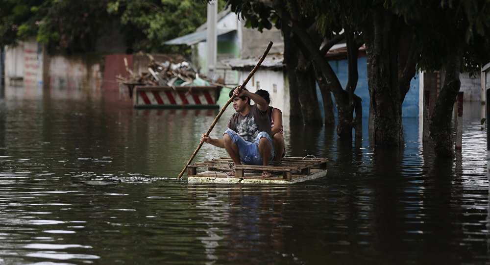 Inundaciones en América Latina (archivo)