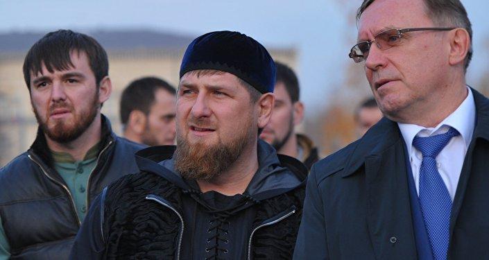 Ramzán Kadirov, líder de la República de Chechenia