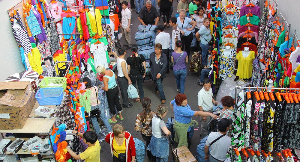 Mercado en Moscú