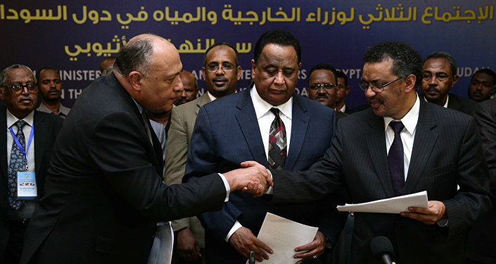 La reunión de los ministros de Exteriores de Egipto, Etiopía y Sudán
