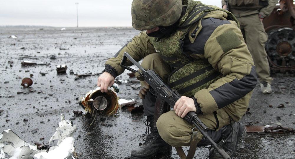 Milicianos de Donbás