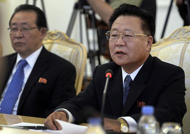 Choe Ryong-hae, el político norcoreano