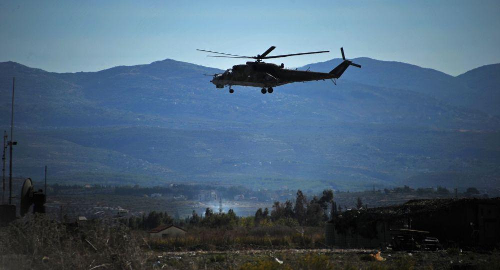 Helicóptero Mi-24 en Siria